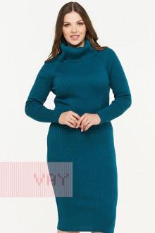 Платье женское 182-2318 Фемина (Темный изумруд)